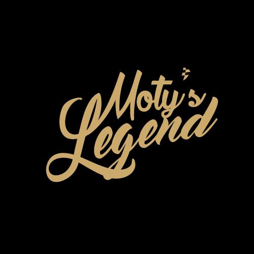 น้ำมันเครื่อง Moty's www.motyslegend.com Logo